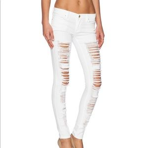 Blank NYC shredded jeans